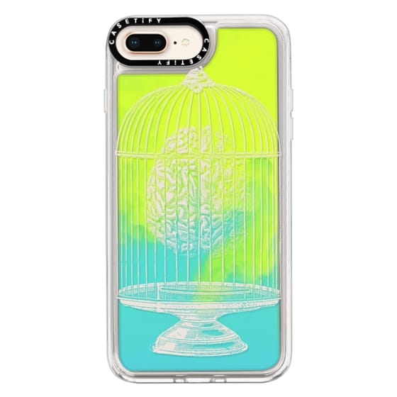 iPhone 8 Plus Cases - Soft Free My Mind