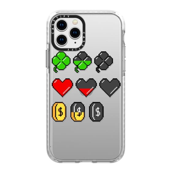 iPhone 11 Pro Cases - Soft Video Game Stats
