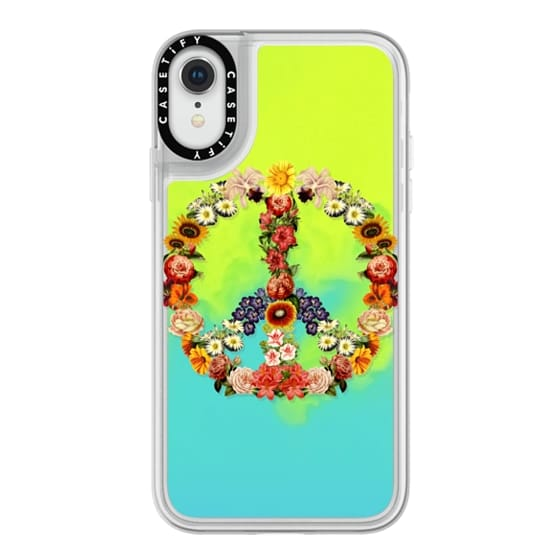 iPhone XR Cases - Soft Flower Power