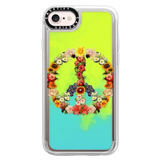 iPhone 7 Cases - Soft Flower Power