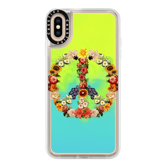 iPhone XS Max Cases - Soft Flower Power