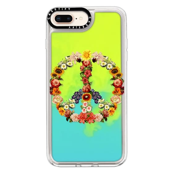 iPhone 8 Plus Cases - Soft Flower Power