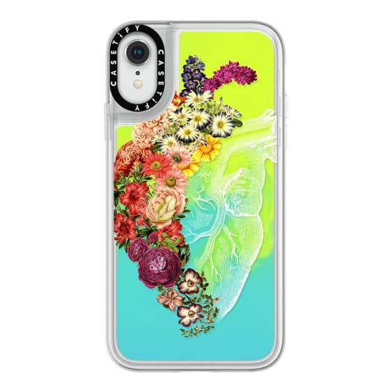 iPhone XR Cases - Soft Flower Heart Spring