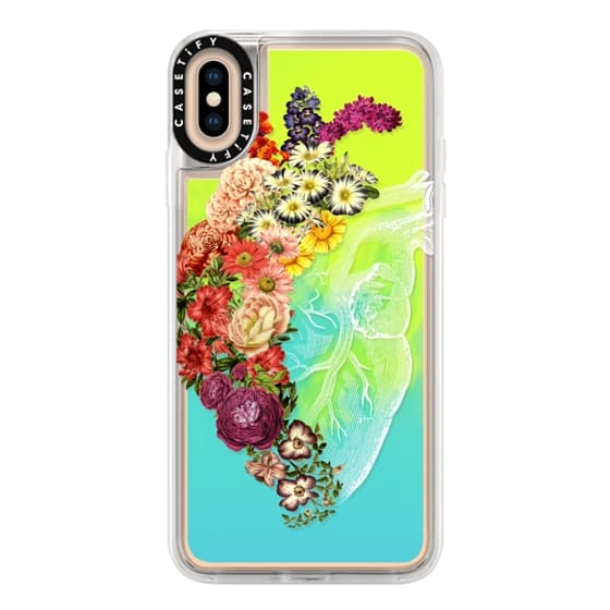 iPhone XS Max Cases - Soft Flower Heart Spring