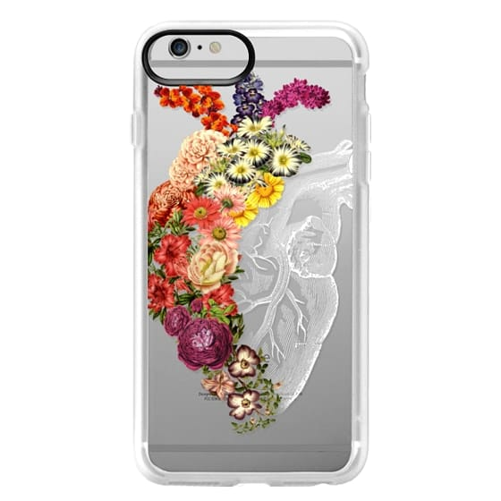 iPhone 6 Plus Cases - Soft Flower Heart Spring
