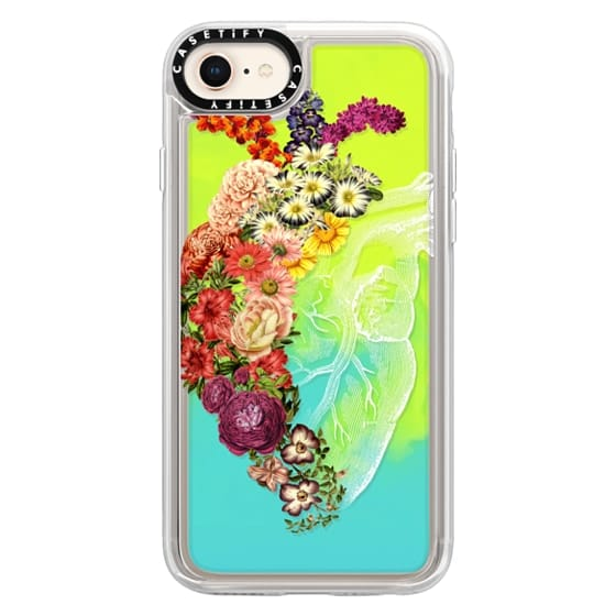 iPhone 8 Cases - Soft Flower Heart Spring