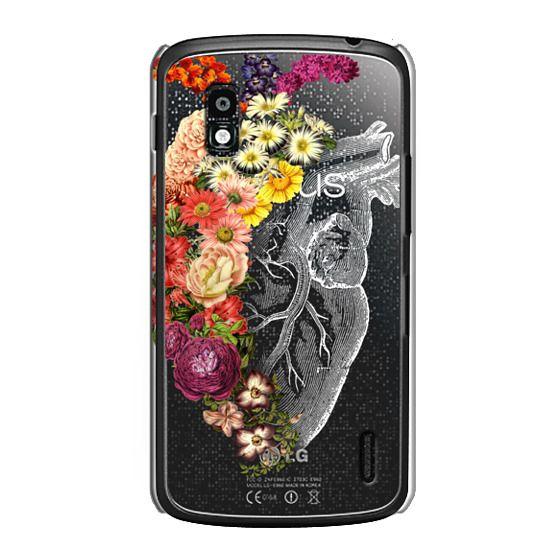 Nexus 4 Cases - Soft Flower Heart Spring
