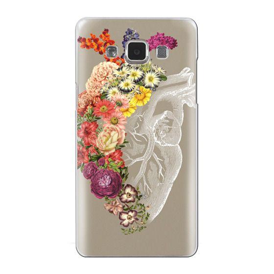 Samsung Galaxy A5 Cases - Soft Flower Heart Spring
