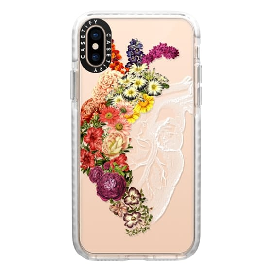 iPhone XS Cases - Soft Flower Heart Spring