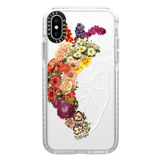 iPhone X Cases - Soft Flower Heart Spring