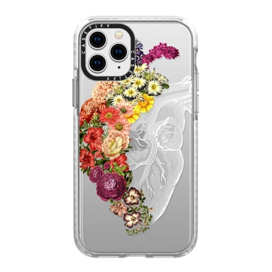 iPhone 11 Pro Cases - Soft Flower Heart Spring