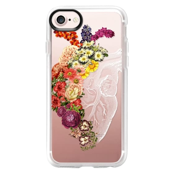 iPhone 7 Cases - Soft Flower Heart Spring