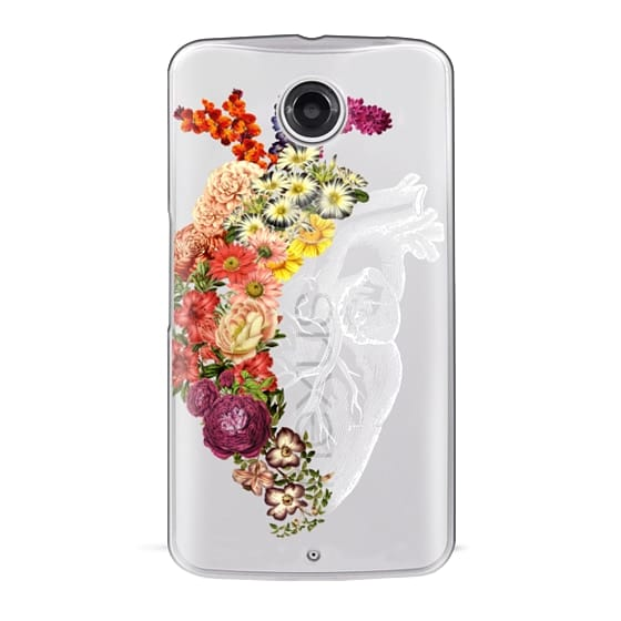 Nexus 6 Cases - Soft Flower Heart Spring