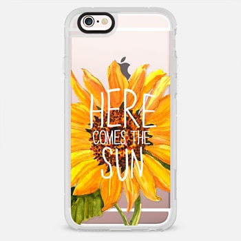 iPhone 6s ケース Here Comes The Sun