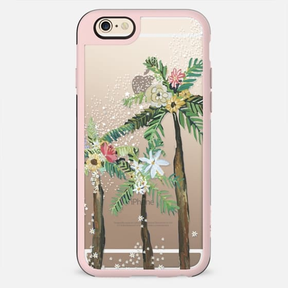 Stars & Flowers Under the Palm Leaves - New Standard Case