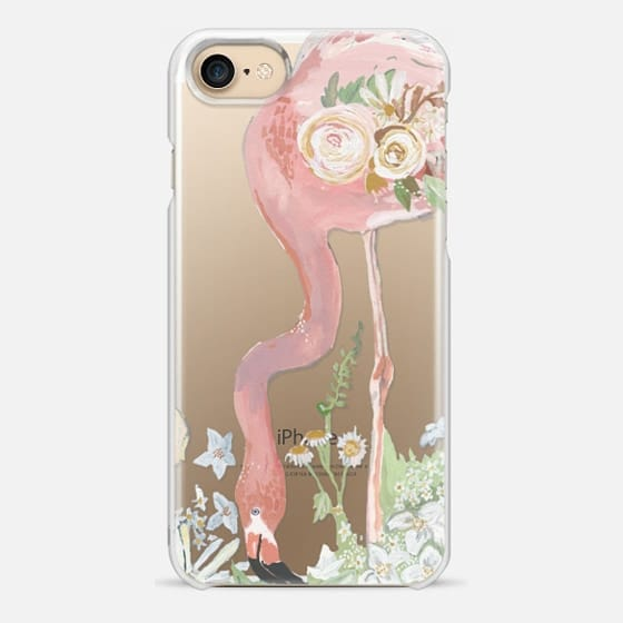 Flamingo & Flora - Snap Case