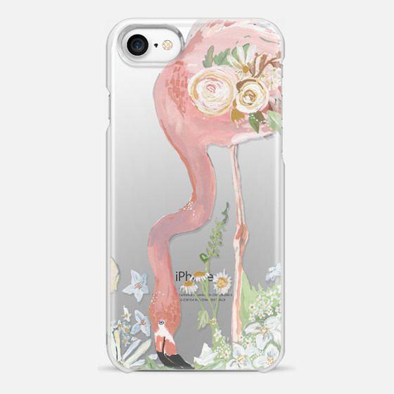 Flamingo & Flora - Snap Case
