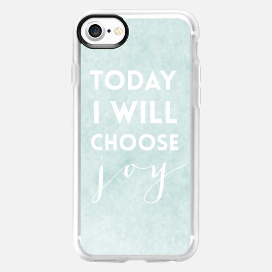 Today I Will Choose Joy - Wallet Case
