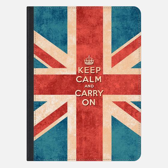 Keep Calm and Carry On Vintage Union Jack Flag Ipad Mini