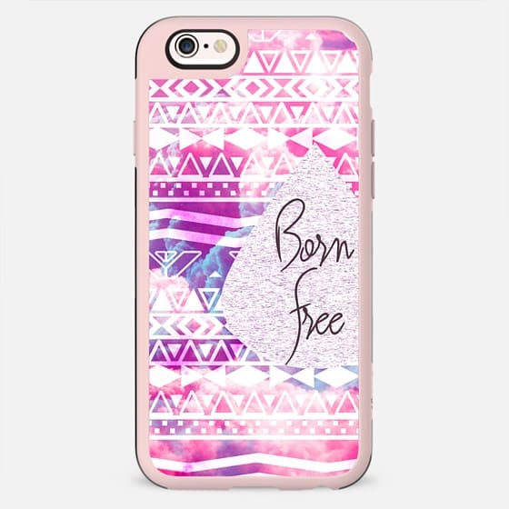 Born Free Aztec on Clouds - New Standard Case