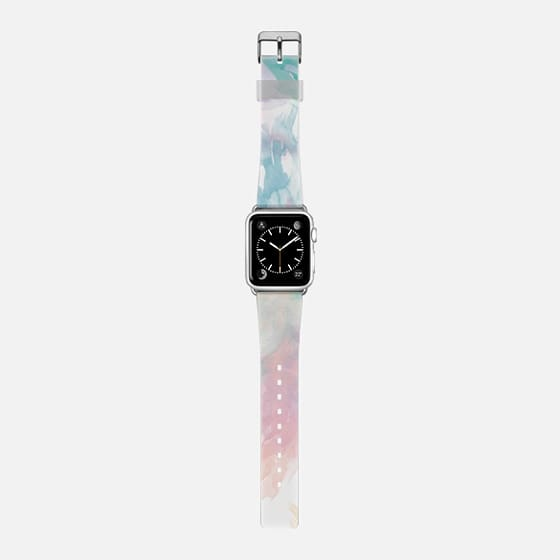 Abstract watercolor spaltter brush stokes Apple watch -