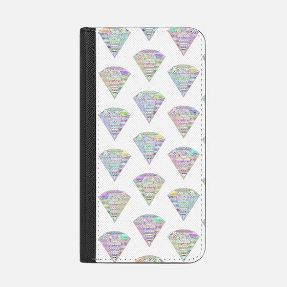 Trendy Girly Pastel Pink Diamond Aztec Patterns