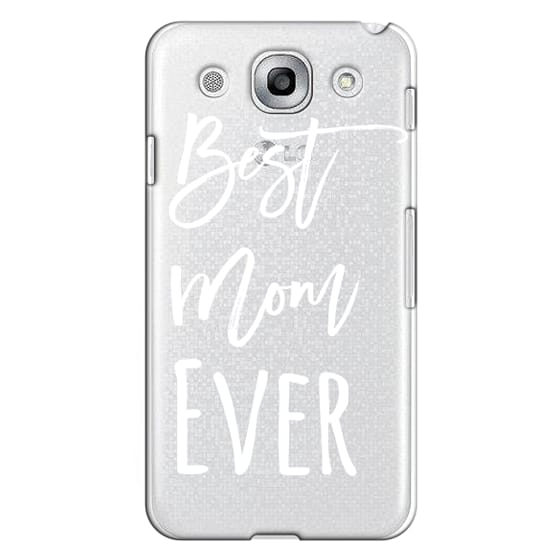 Optimus G Pro Cases - Modern best mom ever typography white by Girly Trend