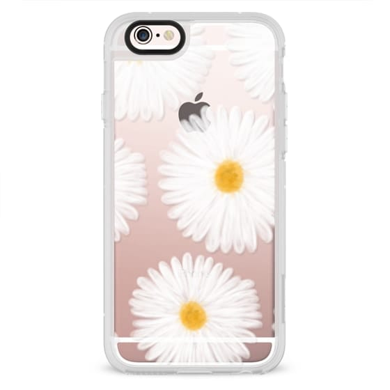 iPhone 6s Cases - Modern summer daisy flowers hand painted watercolor by Girly Trend