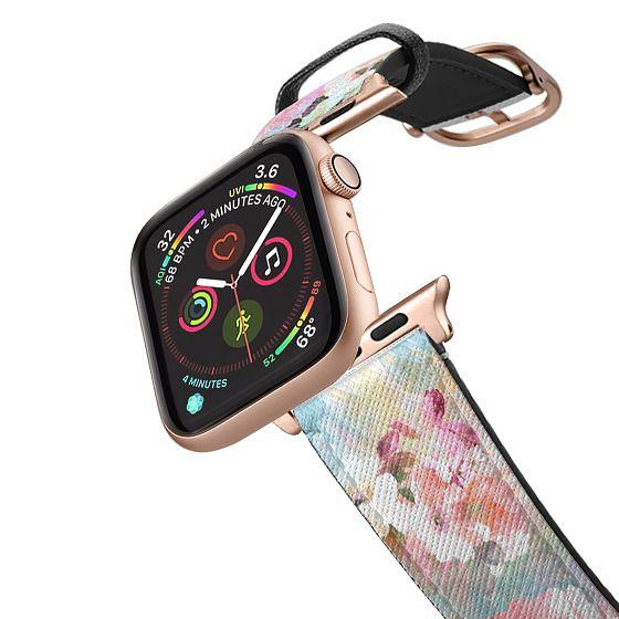 Apple Watch 42mm Bands - Romantic watercolor flowers pattern Apple watch