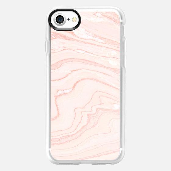 Blush Marble - Wallet Case