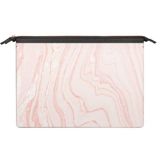 MacBook Pro Touchbar 13 Sleeves - Blush Marble