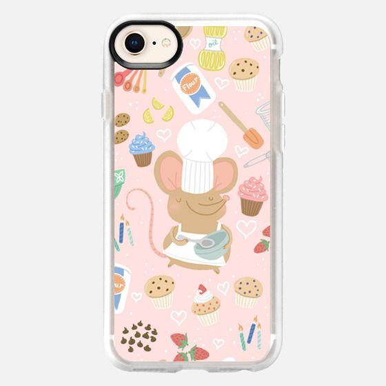 Baker Mouse - Pink - Snap Case