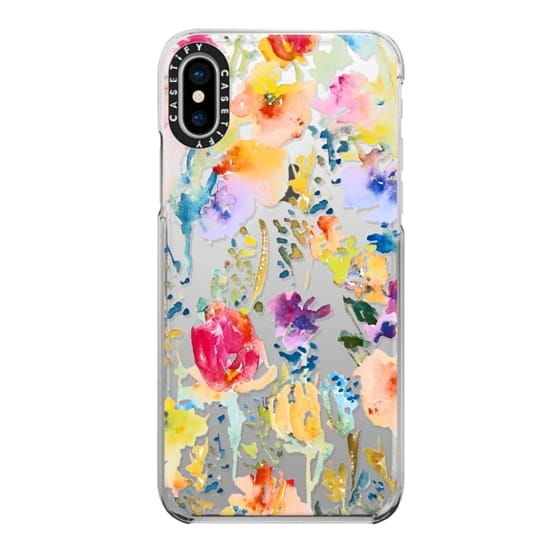 iPhone X Cases - Clear From the Garden
