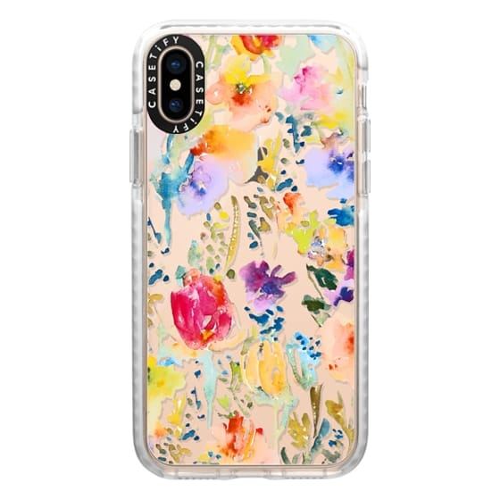 iPhone XS Cases - Clear From the Garden