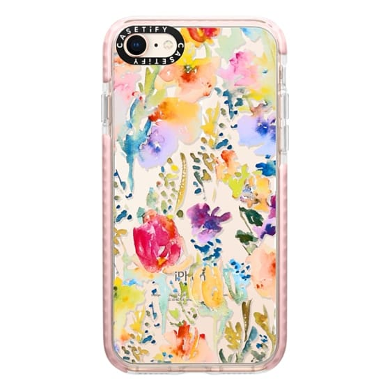 iPhone 8 Cases - Clear From the Garden