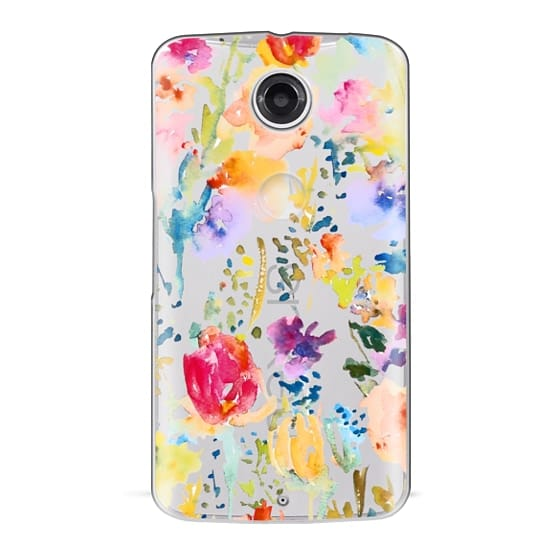 Nexus 6 Cases - Clear From the Garden