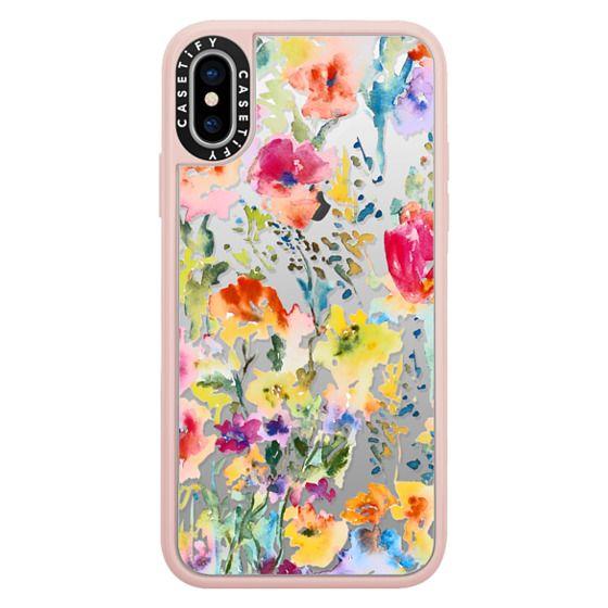 iPhone X Cases - My Garden