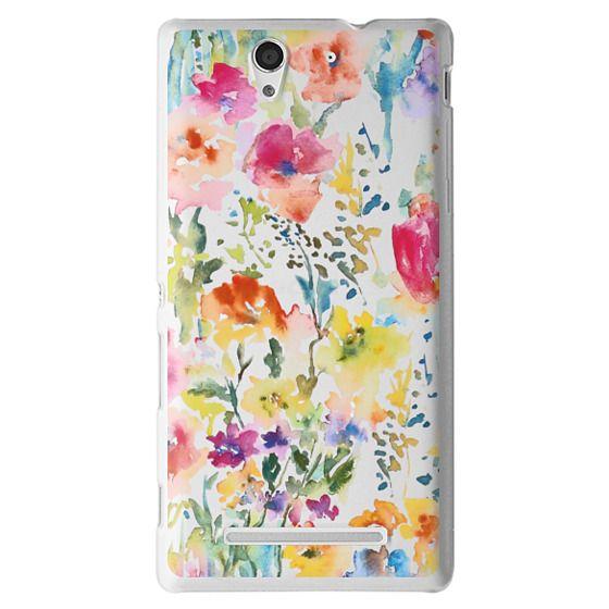 Sony C3 Cases - My Garden