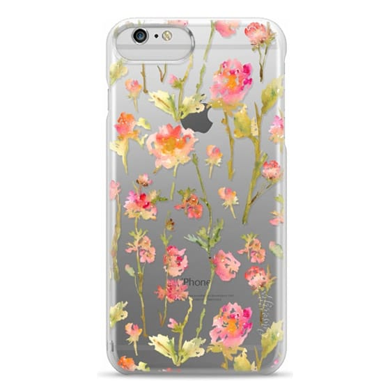 iPhone 6 Plus Cases - Pale Roses Clear