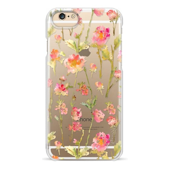 iPhone 6 Cases - Pale Roses Clear