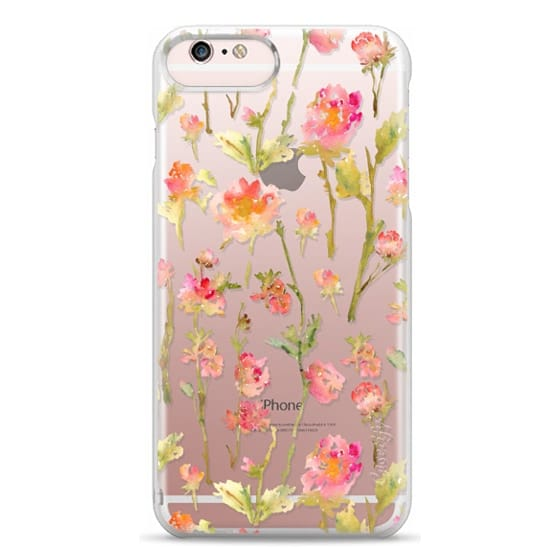 iPhone 6s Plus Cases - Pale Roses Clear