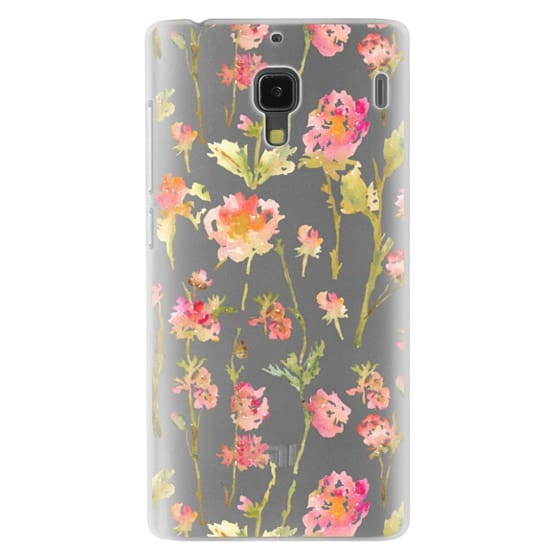 Redmi 1s Cases - Pale Roses Clear