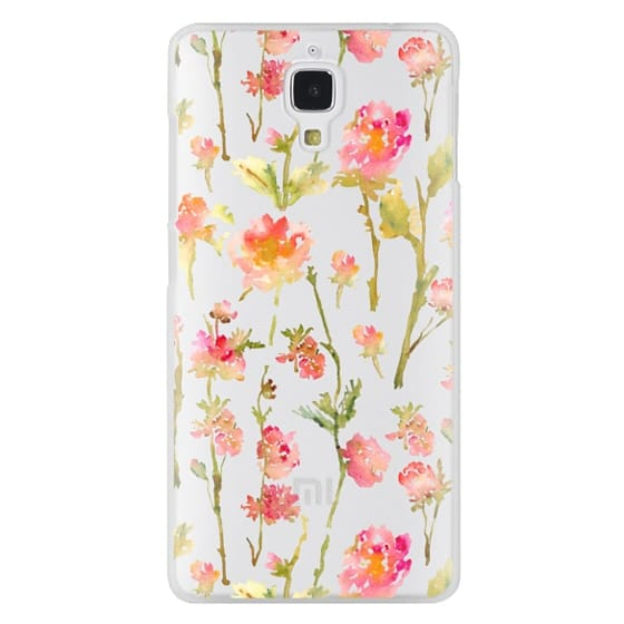 Xiaomi 4 Cases - Pale Roses Clear