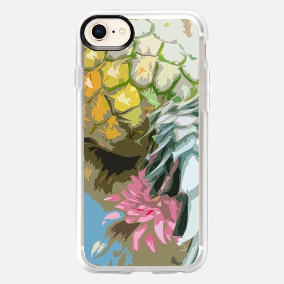 Tropical Pineapple - Snap Case