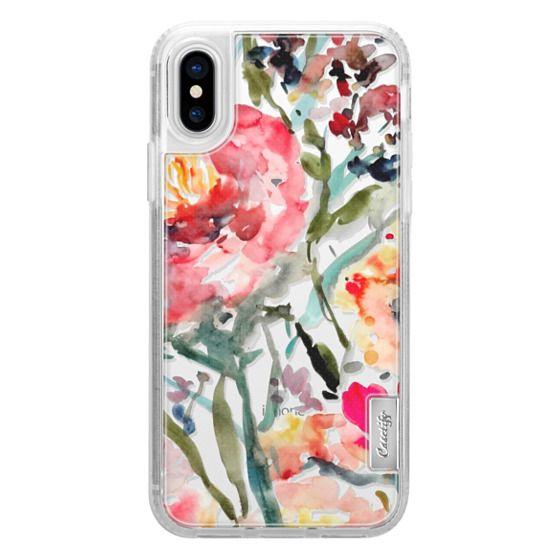 iPhone X Cases - Pink Peony
