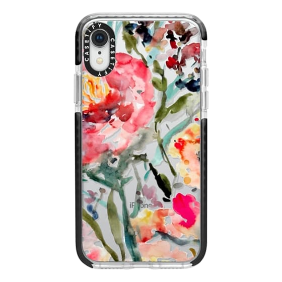 iPhone XR Cases - Pink Peony