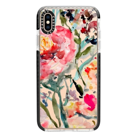 iPhone XS Max Cases - Pink Peony