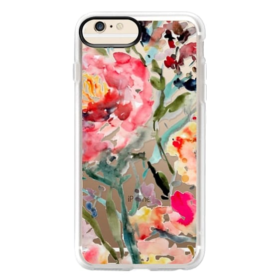 iPhone 6 Plus Cases - Pink Peony