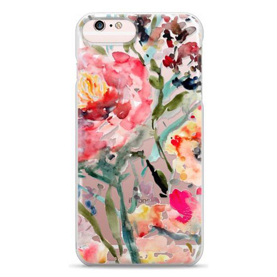 iPhone 6s Plus Cases - Pink Peony