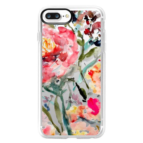 iPhone 7 Plus Cases - Pink Peony